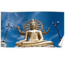 Big Buddha Temple - Koh Samui Poster