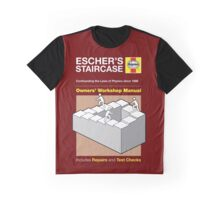 Haynes Manual - M.C. Escher staircase - T-shirt Graphic T-Shirt