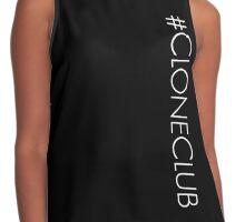 #cloneclub Contrast Tank