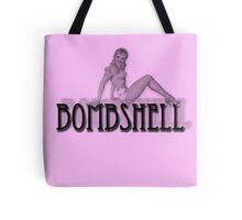 Bombshell pinup Tote Bag