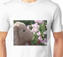 Stuffit the smeller of sweet peas. The adventure continues. Unisex T-Shirt