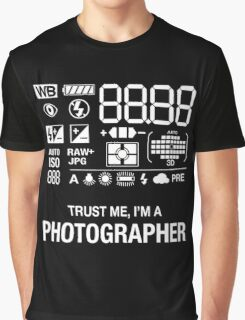 Camera - Trust Me, I'm A Photographer Graphic T-Shirt