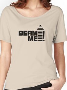 Beam me up V.1 (black) Women's Relaxed Fit T-Shirt