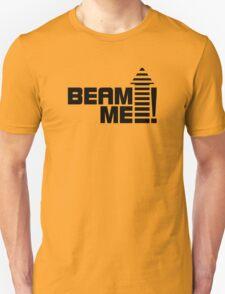 Beam me up V.1 (black) Unisex T-Shirt