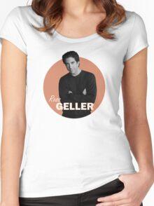 Ross Geller - Friends Women's Fitted Scoop T-Shirt