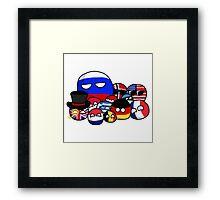 Countryballs Framed Print