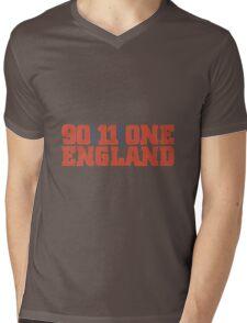 One England football shirt  Mens V-Neck T-Shirt