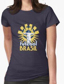Brasil Futebol 14 shirt Womens Fitted T-Shirt
