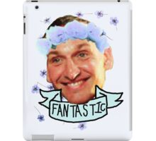 Ninth Doctor Flower Crown iPad Case/Skin