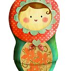 Cute Russian Matryoshka Doll by colonelle