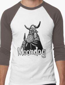 Moondog linocut Men's Baseball ¾ T-Shirt