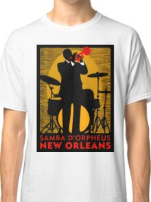 """NEW ORLEANS"" Samba D'Orpheus Print Classic T-Shirt"