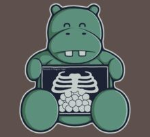 The Hippo who was hungrier One Piece - Short Sleeve