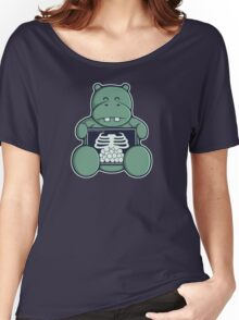 The Hippo who was hungrier Women's Relaxed Fit T-Shirt