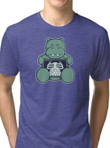 The Hippo who was hungrier Tri-blend T-Shirt