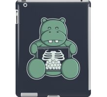 The Hippo who was hungrier iPad Case/Skin