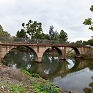 Footbridge across the Burra Creek by Linda Lees