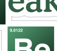 Break Beats Sticker