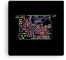 Arduino Leonardo Reference Design Canvas Print