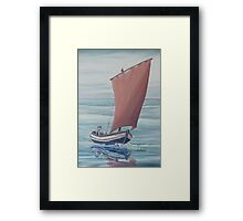 Voyage of the Mary-Jane Framed Print