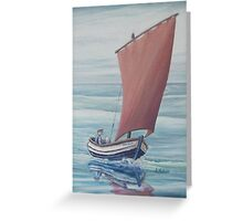 Voyage of the Mary-Jane Greeting Card