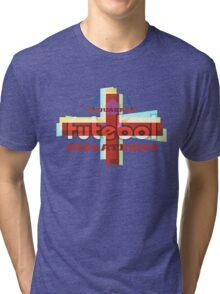 Esquadrão Futebol Inglaterra football shirt Tri-blend T-Shirt