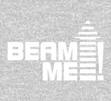 Beam me up V.1 (white) One Piece - Long Sleeve