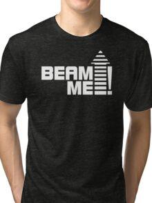 Beam me up V.1 (white) Tri-blend T-Shirt