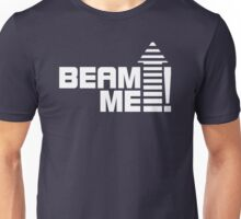 Beam me up V.1 (white) Unisex T-Shirt