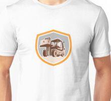Forklift Truck Materials Handling Logistics Shield Unisex T-Shirt