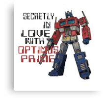 TF LOVE Canvas Print
