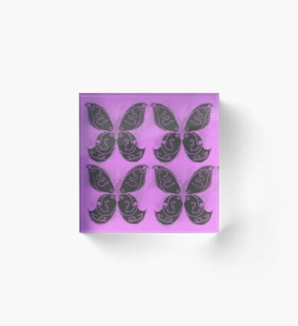 Beautifull butterflys Acrylic Block