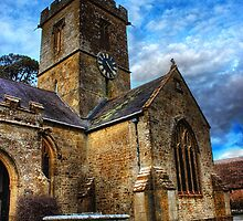 Symondsbury Church by Vicki Field