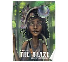 The Blaze Comic Cover Poster