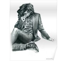Penciled Harry  Poster