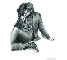 Penciled Harry  Photographic Print