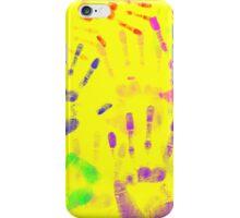 Hands hands hands iPhone Case/Skin