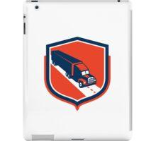 Container Truck and Trailer Shield Retro iPad Case/Skin