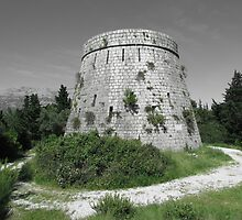 Fort Wellington, 1813, Korcula, Croatia by wiggyofipswich