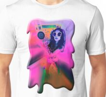 Color Boombox Babe Unisex T-Shirt