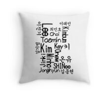 Shinee Forever <3 Throw Pillow