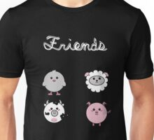 Vegan T-shirt -  friend not Food  Unisex T-Shirt