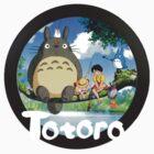Totoro Icon by Gaia Romei