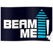 Beam me up V.1 (2c) Poster