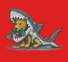 Shark Suit Dog Kids Clothes