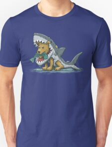 Shark Suit Dog Unisex T-Shirt