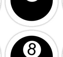 8 Balls Sticker