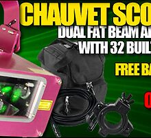 Special offer for chauvet scorpion Dual  by 123dj