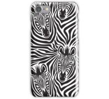 Zebra Couple iPhone Case/Skin
