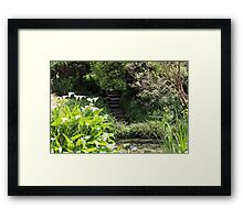 The secret stairs Framed Print